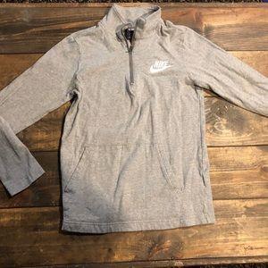 Nike 3/4 zip shirt